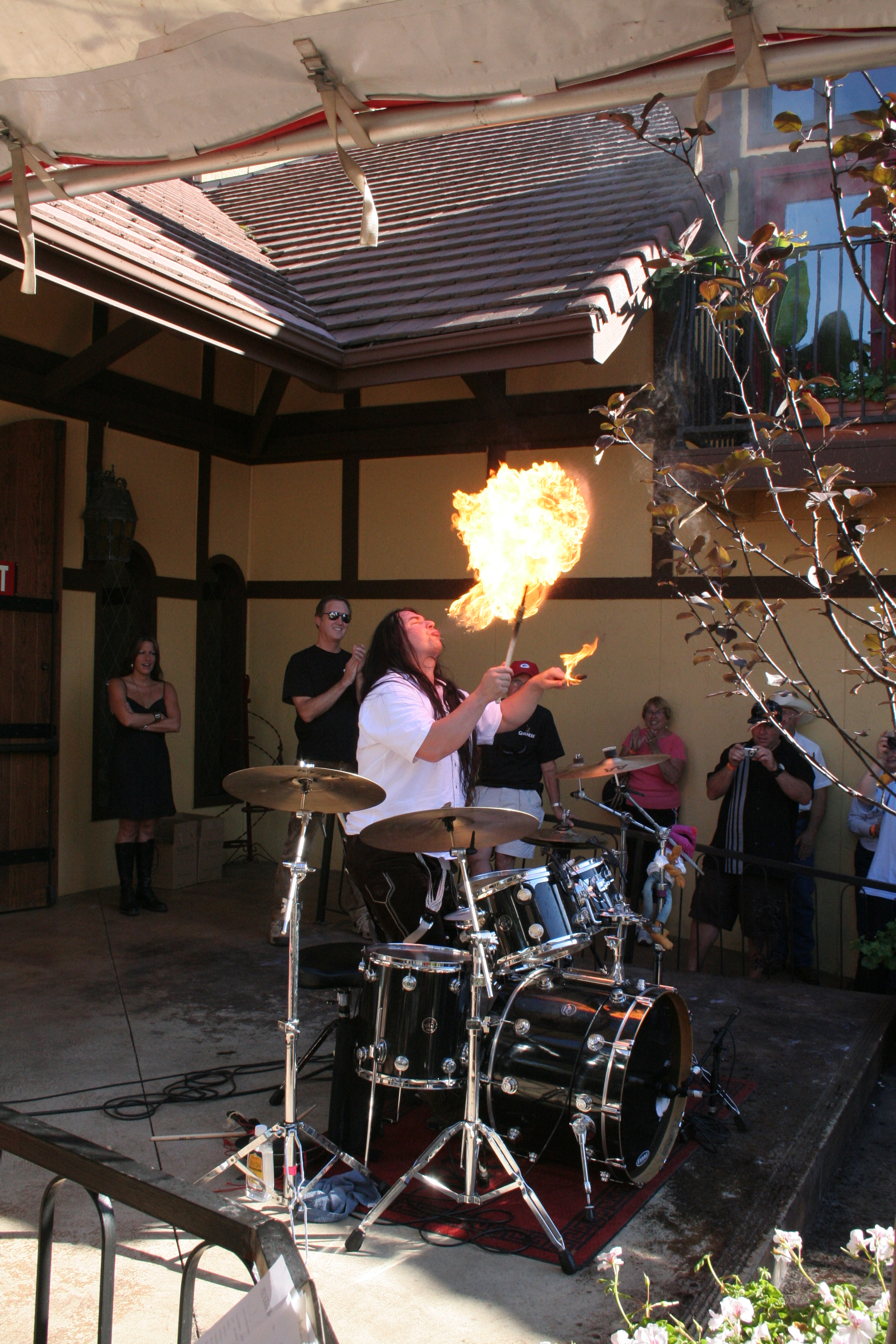 Harry Reischmann Firedrummer Ulm Showband DIE-MAYBACHER