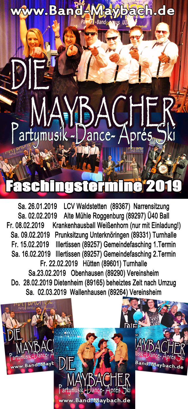 die maybacher partyband ulmtermine - die maybacher partyband ulm