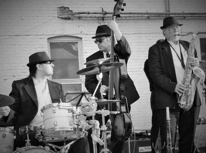DIE MAYBACHE City Swingtett die Mini-Big-Band