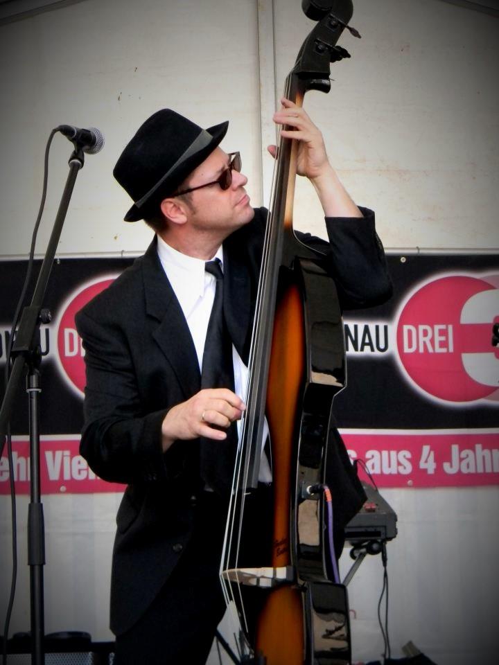 Die Maybacher City Swingtett mit Radio Donau 3